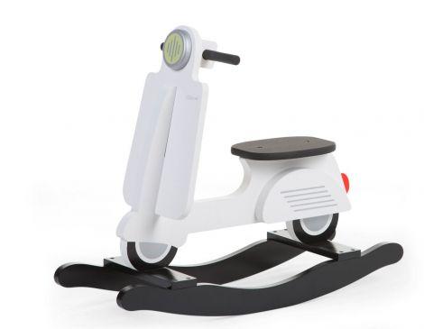 Scooter à bascule - blanc