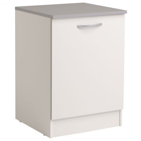 Meuble bas Spott 60 cm avec porte - blanc
