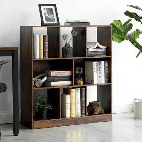 Bibliothèque Free - brun