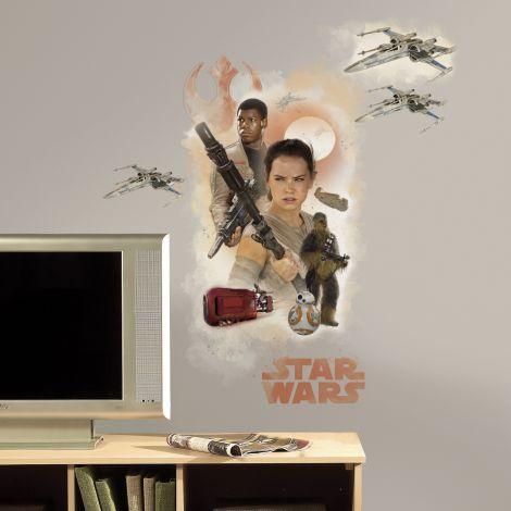 RoomMates stickers muraux - Star Wars Hero