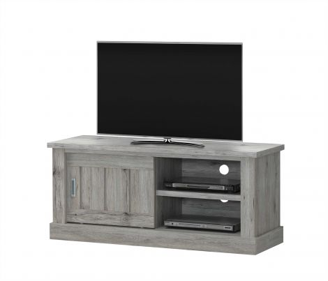 Meuble tv Eddy 132cm - gris