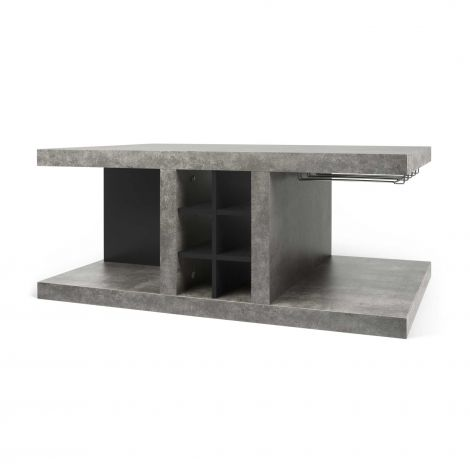 Table basse + bar Delta