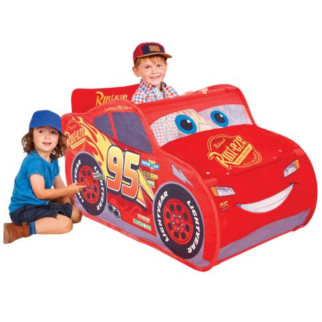 Tente de jeu pop-up Cars