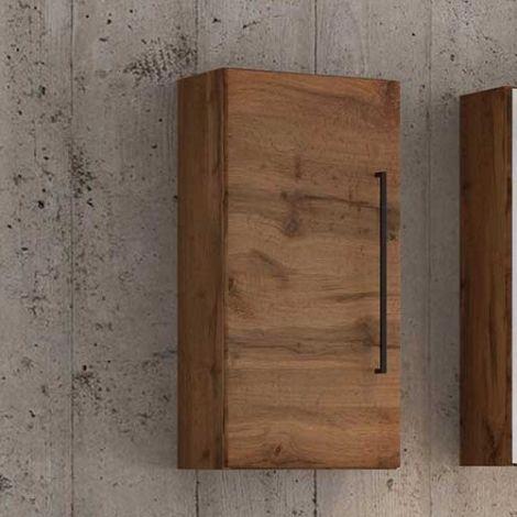 Meuble suspendu Dusan 30cm 1 porte - chêne wotan