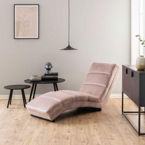 Chaise longue Slick - rose