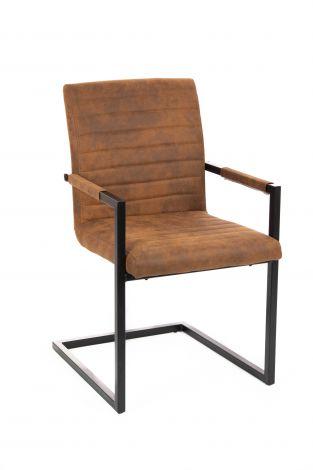 Chaise Bob - cognac