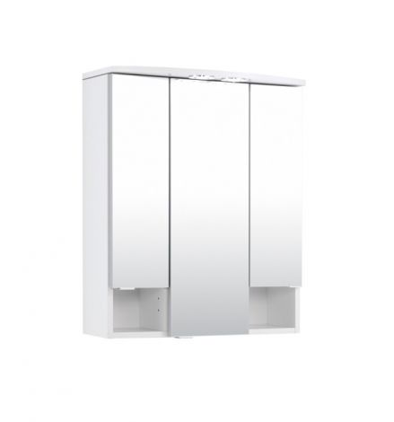 Armoire 3 portes miroir Neapel 60cm
