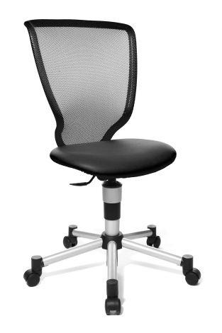 Chaise de bureau pour enfant Titan - noir