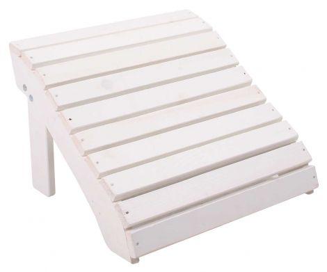 Repose-pieds Jumbo – blanc