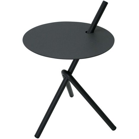 Table d'appoint Stella Ø38cm - anthracite