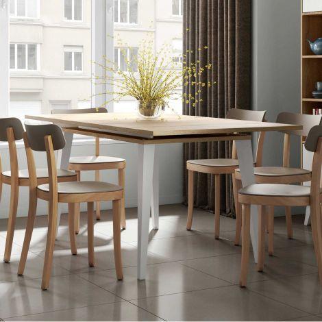 Table extensible Kim 134/174 - chêne