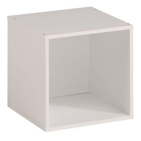 Cube de rangement Cubicub avec 1 niche - blanc