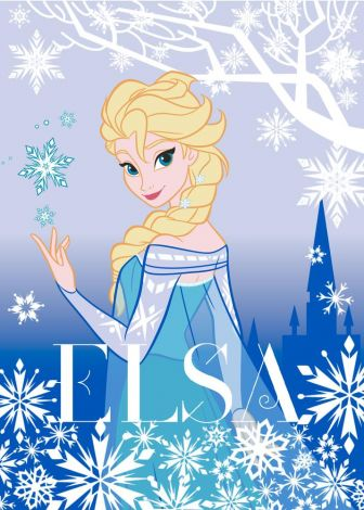 Tapis La Reine des Neiges Elsa