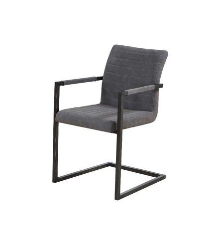 Lot de 2 chaises Britt - gris