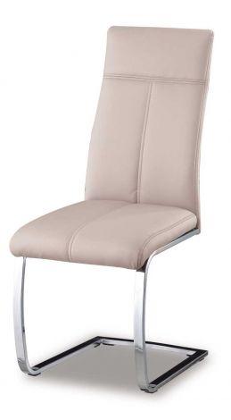 Lot de 2 chaises Elio - cappuccino