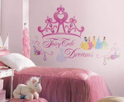 RoomMates stickers muraux - Disney Princess Couronne