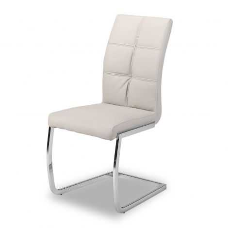 Lot de 2 chaises Eva - gris