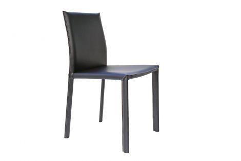 Lot de 2 chaises Dex - noir