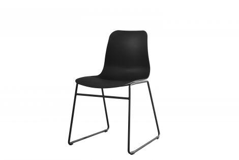 Lot de 2 chaises Marie - noir