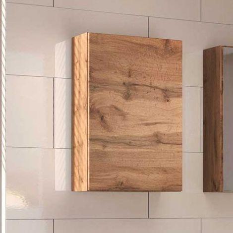 Meuble suspendu Brama/Kornel 40cm 1 porte - chêne wotan