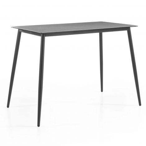 Table de bar Luca 80x150 - gris