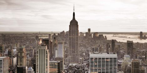 Toile New York 50x100cm