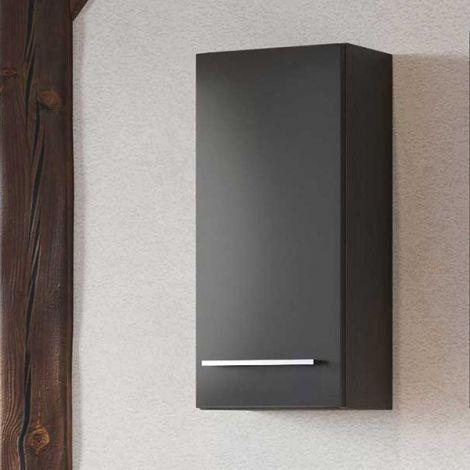 Meuble suspendu Dasa 30cm 1 porte - graphite/gris mat