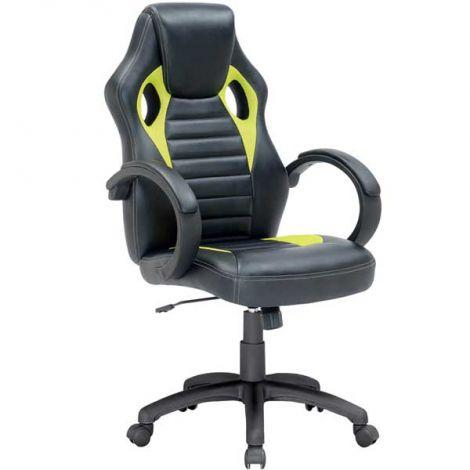 Chaise gamer Pino - vert