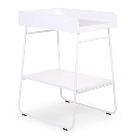 Table à langer Ironwood droite - blanc