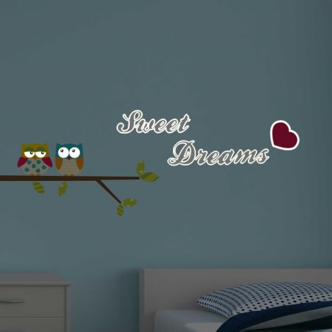 Stickers muraux Sweet Dreams phosphorescents