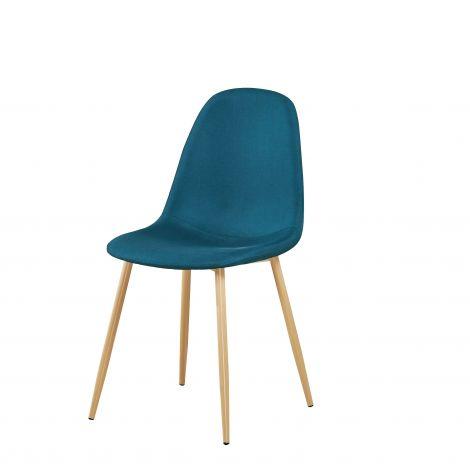 Lot de 4 chaises Yo - bleu