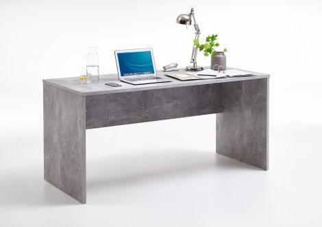 Bureau Brick 160cm - béton