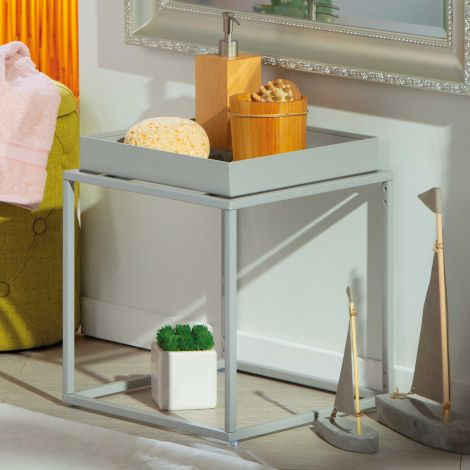 Table d'appoint Club - gris