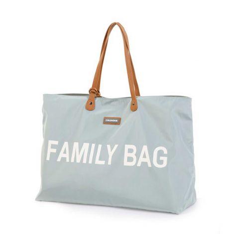 Sac à langer Family Bag - gris/écru