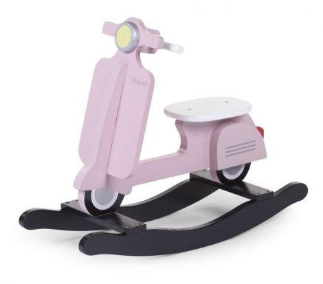 Scooter à bascule - rose/noir