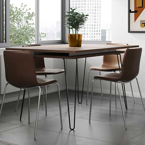 Table extensible Jiro 134/174 - noyer