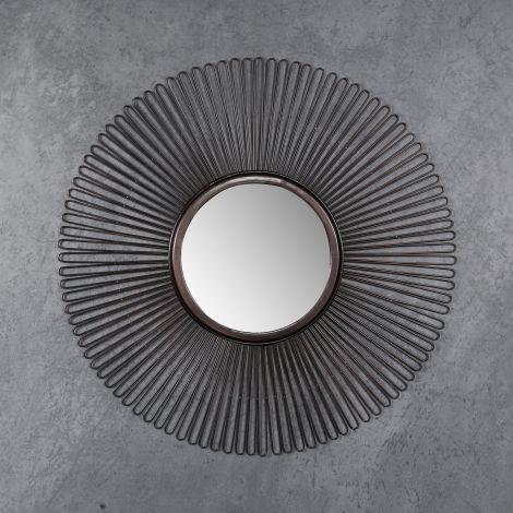 Miroir Ø80 air - Brun