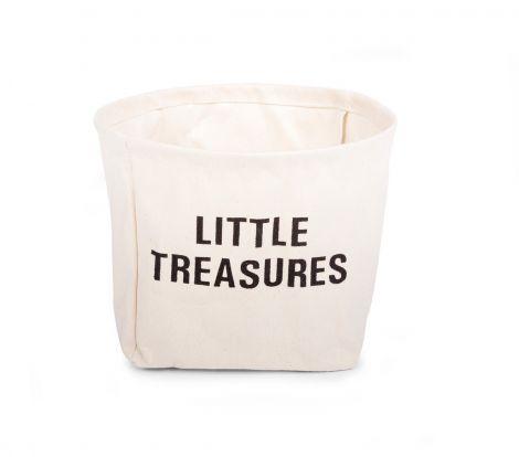 Panier Little Treasures en coton