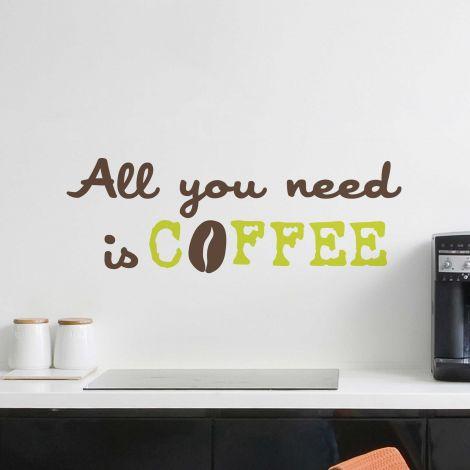 Sticker mural Coffee