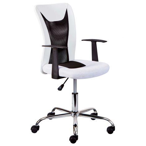 Chaise de bureau Donny - blanc