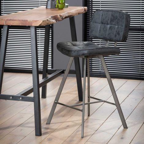 Lot de 4 chaises de bar Ziva - no