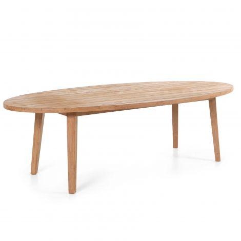 Table de jardin Colorado - ovale