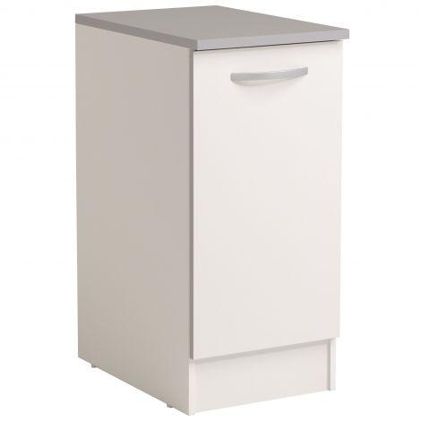 Meuble bas Spott 40x60 cm avec porte - blanc