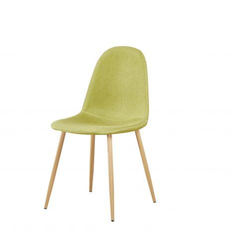 Lot de 4 chaises Yo - vert