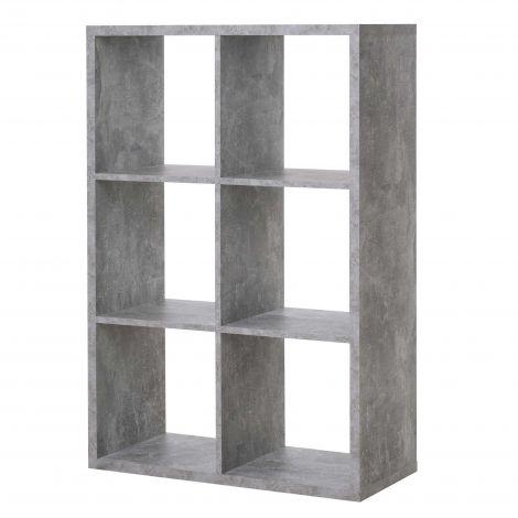 Armoire colonne Max 6 niches - béton