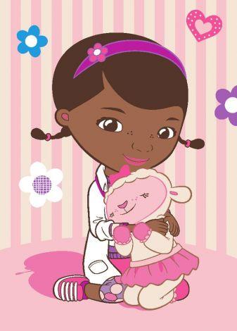 Tapis Docteur La Peluche - Doc and Lambie
