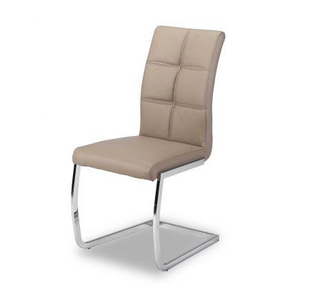 Lot de 2 chaises Eva - brun