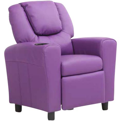 Fauteuil relax pour enfants Rex - violet