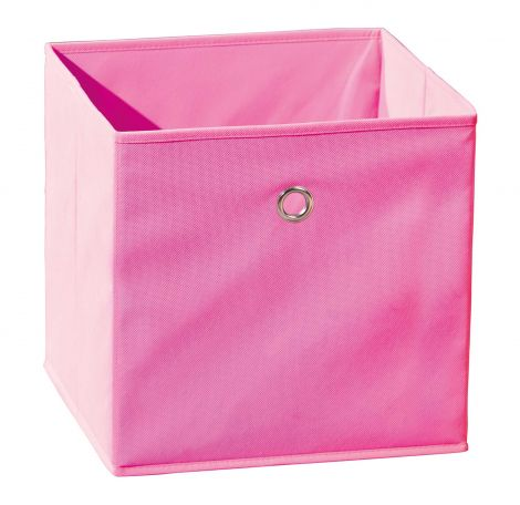 Boîte de rangement pliable Winny - rose