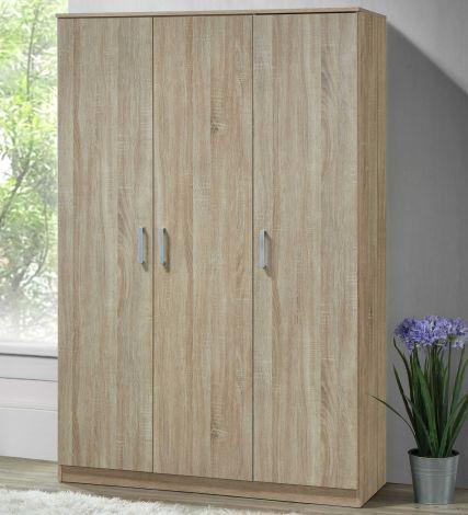 Armoire Lias 3 portes & profonde de 52 cm